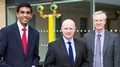 Liam Byrne MP, Shadow Minister for Universities visits the OU