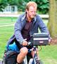 Cyclist Steven Primrose-Smith