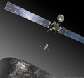 Rosetta with the Philae lander