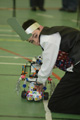 Earlier RoboCup competition Photo: Chris Valentine