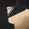 Rosetta swings close by Mars - ESA photo